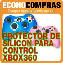 Funda Protectora De Silicon Para Control Xbox 360 100% Nuevo