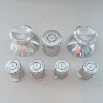 Palancas Aluminio Y Botones Bala Plata P Control De Xbox 360