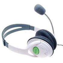 Diadema Audífonos Cn Micrófono Xbox 360 Live Control Volumen