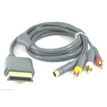 Cable Xbox 360 De S Video Av Sonido Dolby 720p Hd Dvd
