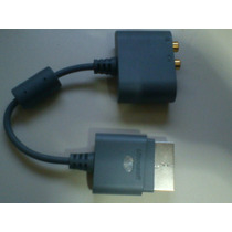 Adaptador Audio Optico Para Xbox 360 Fat/slim Original