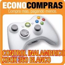 Control Para Xbox 360 Blanco Inalambrico 100% Nuevo!!!!!!!!!