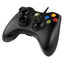 Control Microsoft Xbox Para Pc Alambrico Negro Nuevo Oferta