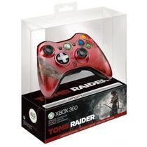 Control Xbox 360 Edicion Tomb Raider Nuevo Blakhelmet D
