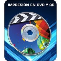 Imprecion En Cd Y Dvd