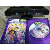 Sensor Kinect Xbox360 Y Juego Baila Con Dora