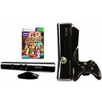 Xbox 360 250gb + Kinect Adventures Con Envío Gratis