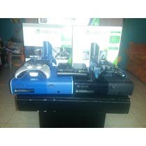 Consola Xbox 360 E Tipo One Slim 500gb Edicion Especial Azul