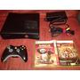 Consola Xbox 360 Slim Disco 250gb Juegos Resident Gears V/c