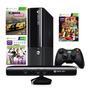Consola Xbox 360 500gb 3 Juegos Kinect