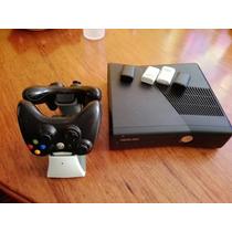 Xbox 360 Slim +2 Controles Inalambricos
