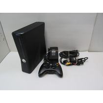 ¡wow! Consola Xbox Slim 360 Como Nueva Remato