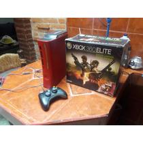 Xbox 360 Edición Especial Re 5 Rojo