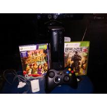 Xbox360,kinect ,2juegos,control Inalambrico, Carga Y Juega