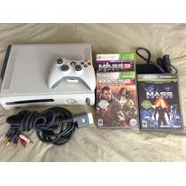 Consola Xbox 360 Premium + Trilogía Mass Effect