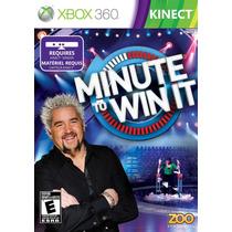 Minute To Win Un Minuto Para Ganar Xbox 360 Blakhelmet R E