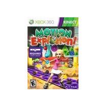 Kinect Motion Explosion Xbox 360 Nuevo, Sellado