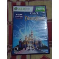 Video Juego Disneyland Adventures Xbox 360 Kinect Microsoft