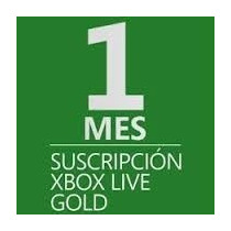 Xbox Live Gold 1 Mes Cuenta