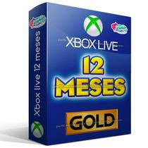 Membresia Xbox Live Gold 12 Meses Envio Gratis Vía Email
