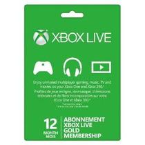 Xbox 360 - Tarjeta De Suscripción - Xbox Live - 12 Meses (mi