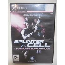 Splinter Cell Pandora Tomorrow Juego Xbox Disco E802