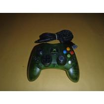 Control Original Xbox Clasico Edicion Halo Funciona Perfecto