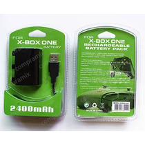 Pila, Bateria Xbox One Recargable Via Usb. Kit Carga Y Juega