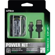 Xbox One Nyko Kit Bateria + Cable + Cover Maxima Calidad