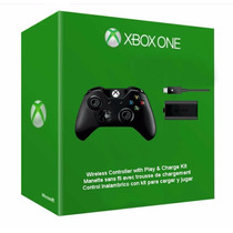 Xbox One Control Inalámbrico + Carga Y Juega (play & Charge)