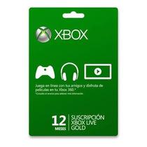Xbox Live Gold Membresia 1 Año