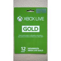 Microsoft Xbox Live Gold 12 Meses