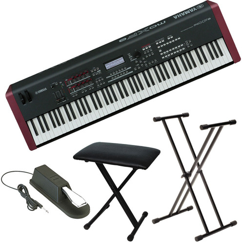 yamaha moxf8 teclado 88 teclas u s 2 en mercadolibre. Black Bedroom Furniture Sets. Home Design Ideas