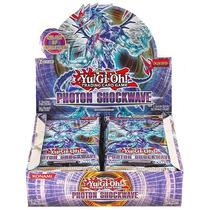 Yugi-oh Photon Shockwave Booster Pack Lote De 3 En Ingles
