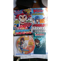 Buddyfight Card Game Manga Llavero Y Dvd Promocional