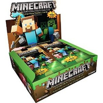 Minecraft Coleccionables Trading Cards Stickers Paquete Caja