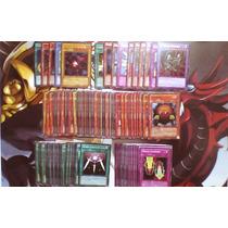 Yu-gi-oh! Paquete De 130 Cartas Originales, Varias Rarezas.