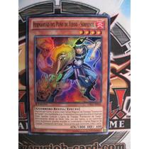 Yugioh Spanish Brotherhood Of The Fire Fist Snake Super 1st