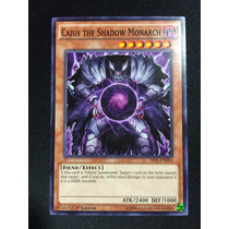 Yugioh Caius The Shadow Monarch Comun 1st Sr01-en004