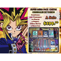 Super Mega Pack De Cartas De Yugioh!!