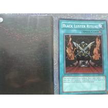 Carta Yu Gi Ho Blak Luster Ritual