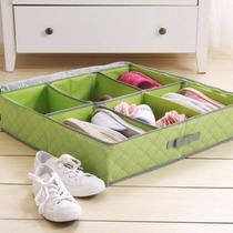 Zapatera Organizador Para 6 Pares De Zapatos Color Verde Ag