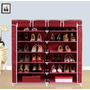Armario De Zapatos Organiza 36 Pares 6 Niveles 160x60x29 Cms