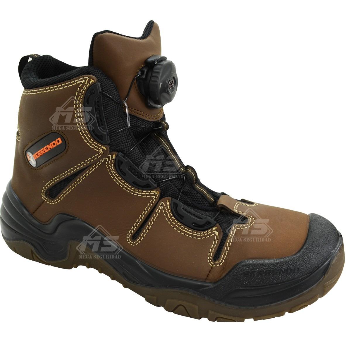 Zapato bota berrendo industrial casco de acero cordon - Zapatos de seguridad precios ...