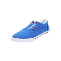 Us Polo Assn - Tenis Textil - Azul - Marfil-h7-a-087