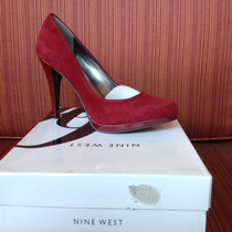 Zapatilla Nine West Color Vino Num. 4.5 Mex