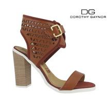 Zapato Dama Mujer Tacon Abierto Moda Dorothy Gaynor F- T