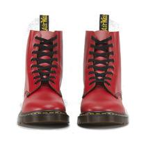 Botas Dr Martens Pascal 8i Rojo Vintage 100% Piel Originales