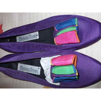 Zapatos Casuales, Nuevos, Color Morado Y Rosa, Mujer $700