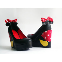 Zapatos Custom Minnie Mouse
